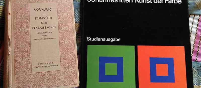 Der blasse Vasari und der bunte Itten.
