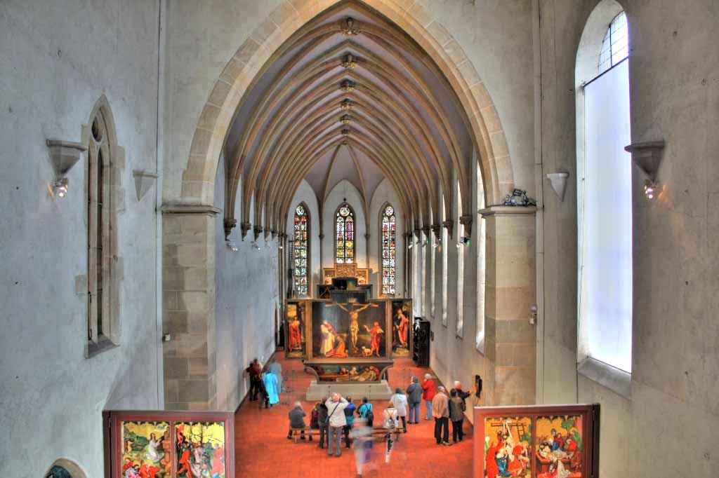 Isenheimer Altar im Museum Unterlinden in Colmar.