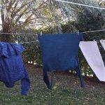 Fru Öttenpötter vertellt: Wäsche draußen trocknen