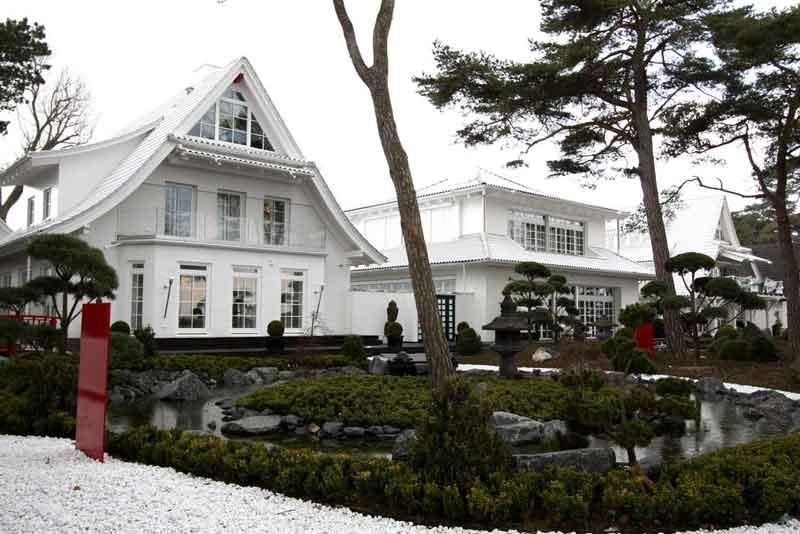 Die Gartenseite