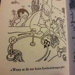 Buchsouvenir: Die heitere Schöpfungsgeschichte von Jean Effel