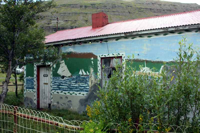 Das Geirahùs in  Seyðisfjörður