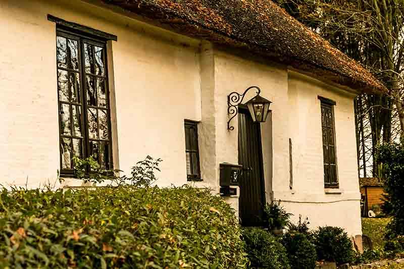 Die Mennokate bei Bad Oldesloe: halb Wohnhaus, halb Museum.
