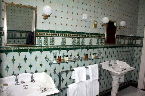 Badezimmer der Präsidentensuite in Waterford Castle