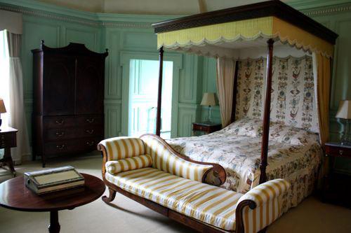 Schlafgemach in Rossborough House