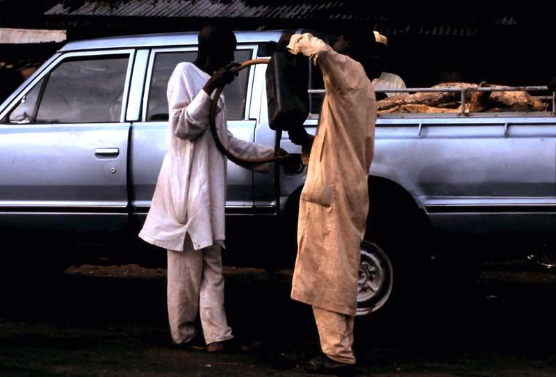 Tankstelle in Kamerun
