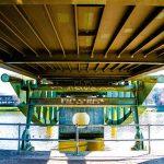Schön anzusehen: Die Lübecker Klughafenbrücke