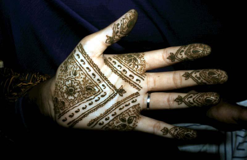 Henna-Hände