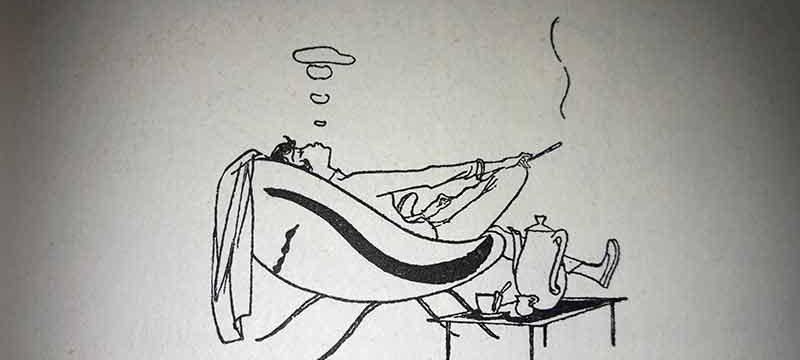 In den Illustrationben von Eva Kausche-Kongsbak blitzt immer auch Humor auf.