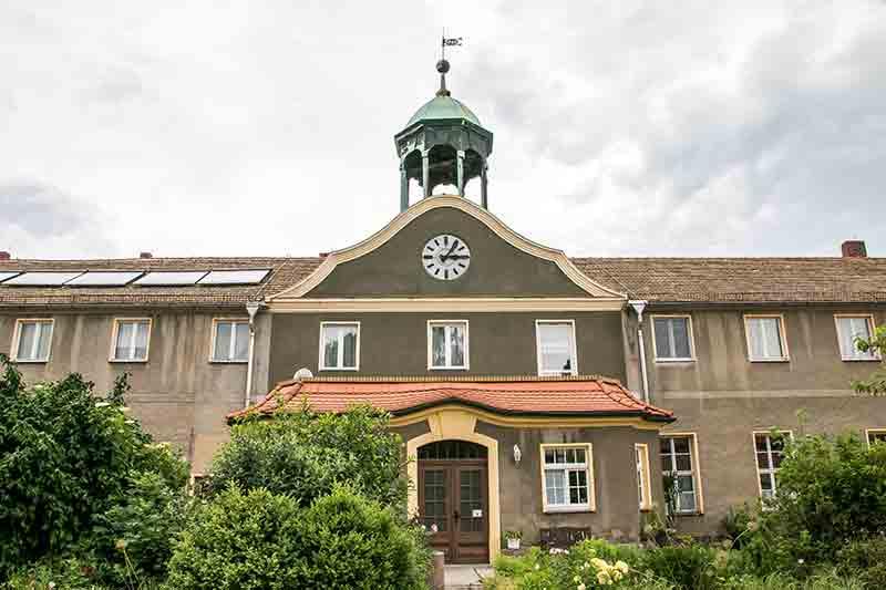 """Das """"Schloss"""" Trossin: Das Herrenhaus des Rittergutes war stets eher praktisch als repräsentativ."""
