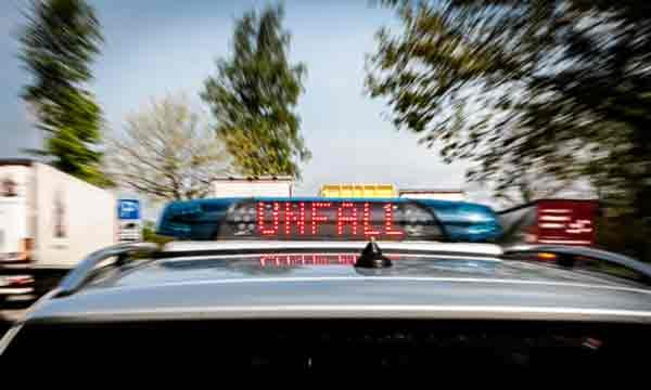 Unfall - der Klassiker für Polizei-Symbolbilder.
