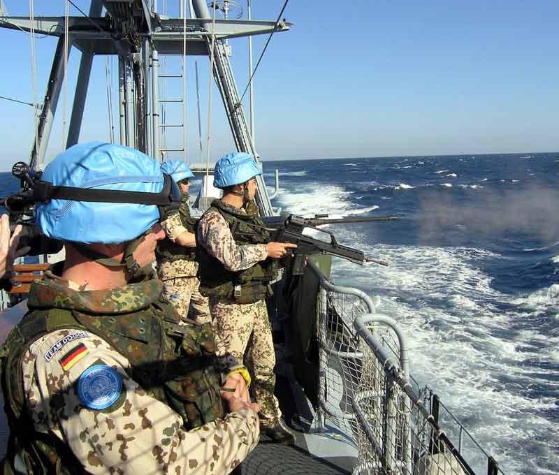 Unifil-Einsatz zwischen Zypern und dem Libanon.