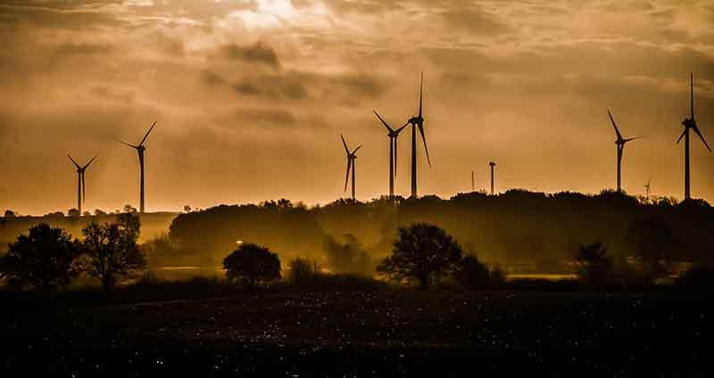 Windräder, Windenergie, Windkraftanlagen